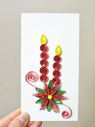 this is the paper quilling card design that you want come with me