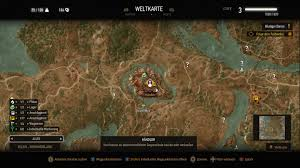 The Witcher 3 World Map by The Gwent Card Dealer At The Witcher 3 Nexus Mods And Community