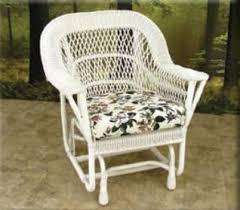 Outdoor Single Glider Chair Mackinac Outdoor Wicker Jaetees Wicker Wicker Furniture