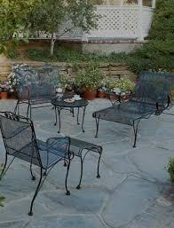 grade outdoor wrought iron patio furniture