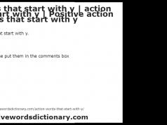 Action Words Resume Action Words Action Verbs Resume Power Words Action Word List