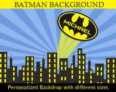 Superhero Backdrop This Product Is A Digital Pdf File That Will Be Emailed To You If