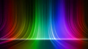 abstract motion rainbow colors background shining lights sparks