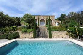 Pool House For Sale Near Gordes Lovely Property With Terrace Swimming Pool