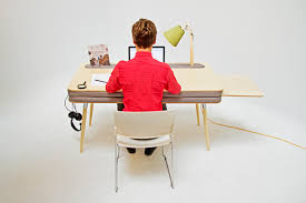 work desk ideas a comfortable work desk that holds everything design milk