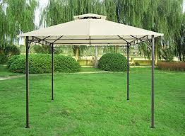 Sunshade Awning Gazebo Greenbay 3x3m Pavilion Gazebo Awning Canopy Sun Shade Shelter