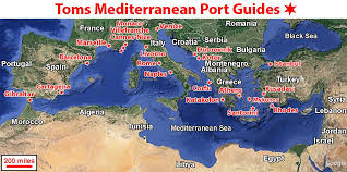 Map Mediterranean Mediterranean Cruises Mediterranean Cruise Port Guide
