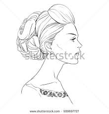 Face Vase Drawing Face Profile Stock Images Royalty Free Images U0026 Vectors