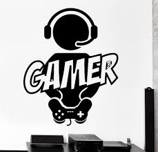 selling wall sticker gaming gamer joystick video computer game