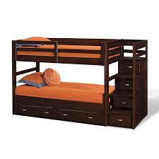 Kids Bunk Beds With Storage Varnished Wooden Oak Bunk Bed With - Rooms to go bunk bed