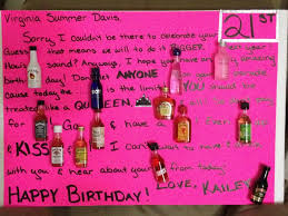 21st birthday card for my best friend summer gifts and such