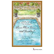 Backyard Birthday Party Invitations Pool Party Invitations New Selections Winter 2017