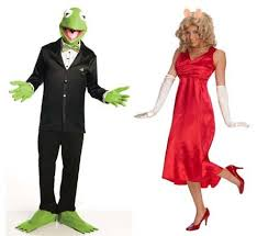 Salt Shaker Halloween Costume Muppets Couples Costume Piggy U0026 Kermit Standard