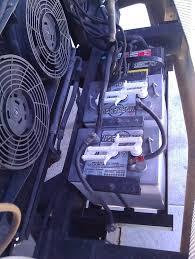 installed 2 new 6 volt centennial batteries in rv san diego rv