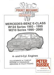 pocket mechanic for mercedes benz e class series w124 and w210