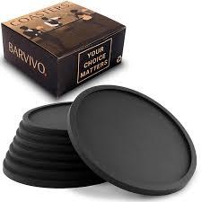 amazon com drink coasters by barvivo set of 8 tabletop