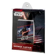 Airplane Shower Curtain Disney Star Wars Shower Curtain 1 0 Ct Walmart Com