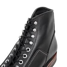 buy dazzling black leather carpenter boots by lone wolf