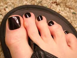 buy cool natural purple and black nail polish color for men online