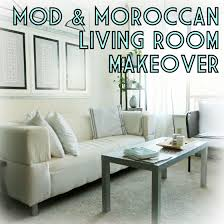 Livingroom Makeovers by Living Room Makeover With Mod U0026 Moroccan Decor U2013 The Decor Guru