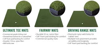 tour greens wisconsin artificial grass golf hitting mats