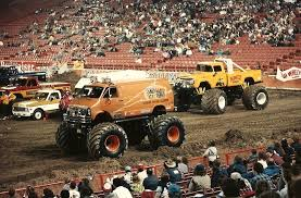 monster truck racing association monster truck gargling gas