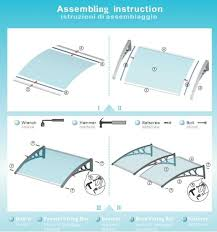 Awning Kits Ds80200 P 80x200cm 31 49x 78 74inches Different Color Choose
