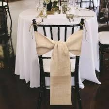 chair sashes for wedding burlap wedding chair sashes bazaraurorita ideas to make