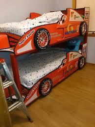 Cars Bunk Beds Race Car Bunk Beds Lightning Bed Cars Theme Bedroom Lightning And