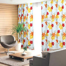 Vintage Eyelet Curtains Floral Curtains Blue Floral Curtains Pink Yellow Black