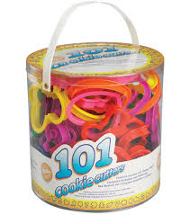 wilton plastic cookie cutters 101 pkg assorted shapes numbers