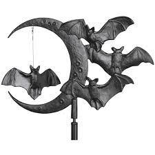 garden weathervane halloween bat in weathervanes