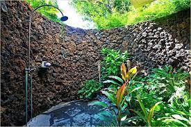 Outdoor Shower Fixtures Copper - shower diy outdoor rain shower water from rain shower outdoor