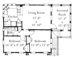 900 Square Foot House Plans by House Plan G0087 Design From Allison Ramsey Architects