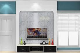 simple tv wall between door and window 3d house