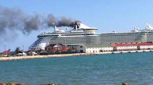 photos royal caribbean cruise ship fire wftv