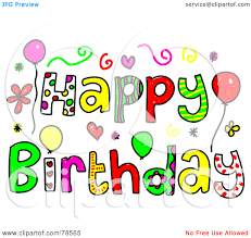 free happy birthday clipart for her free free happy birthday