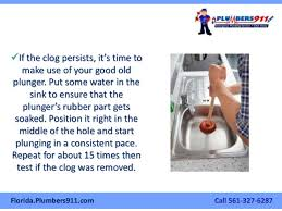 How To Clear A Clogged Kitchen Sink - Kitchen sink is clogged