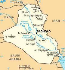 map of baghdad baghdad iraq