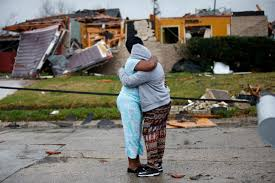 Entergy New Orleans Outage Map by Tornado Outbreak Destroys Homes Causes Injuries In Louisiana