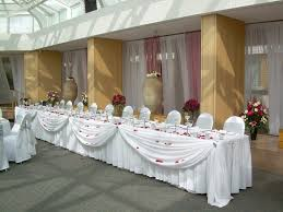 Cloth Table Skirts by 8 Best Headtable Swag Images On Pinterest Wedding Reception