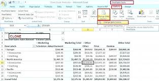 Change Pivot Table Data Range Pivot Data In Excel Image Titled Create Pivot Tables In Excel Step