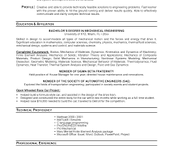 resume objective for engineering internships transform good resume exles for internships on job college