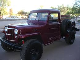 custom willys jeep 1954 willys pickup information and photos momentcar