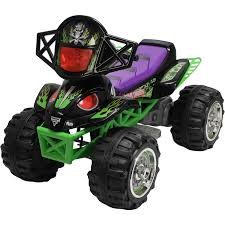 monster jam grave digger truck monster jam grave digger quad 12 volt battery powered ride on