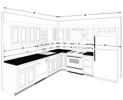 Measurements Of Kitchen Cabinets Galley Kitchen Design Measurements Cabinets Dimensions Ers Small
