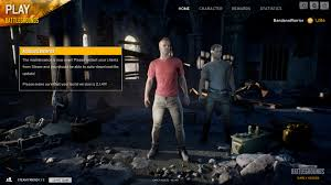 pubg is a bad game new bug in character looks after update will be fixed next week