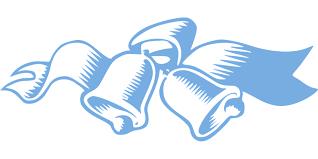 wedding ribbon bells church blue free vector graphic on pixabay