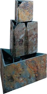 decorative water fountains for home indoor decorative fountain maintenance mason 35 high faux stone