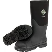womens size 12 muck boots chore hi steel toe muck boot in black mb chs 000a the